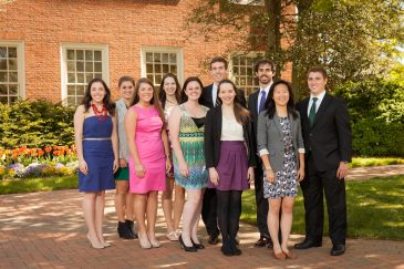 New Wake Forest Fellows for the 2013-14 academic year