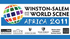 Winston-Salem and the World Scene logo