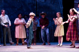 "a theme analysis of the grapes of wrath by frank galati The cast of the grapes of wrath at a noise within  grapes of wrath,"" adapted for the stage by frank galati,  ""grapes of wrath"" is like one."