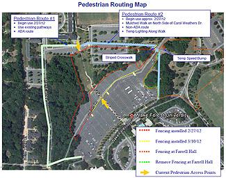 Pedestrian Map