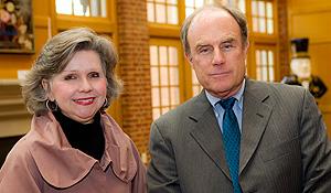Martha Allman and Jay Mathews