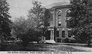Alumni Building on Old Campus