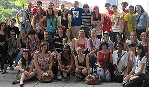 Students in the Ben Franklin Fellows Summer Institute