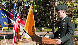 Veteran's Day celebration in 2011