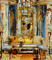 "The painting ""Yellow Pillow"""