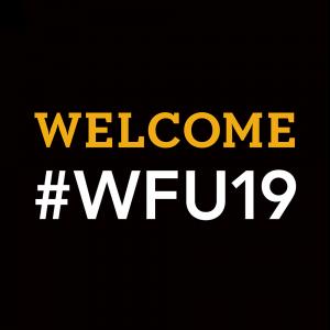 Welcome #WFU19