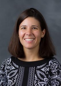 Wake Forest new faculty headshots, Thursday, August 14, 2014. Kristen Beavers.