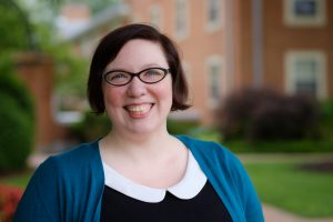 Wake Forest Humanities Institute staff member Aimee Mepham, Wednesday, May 18, 2016.