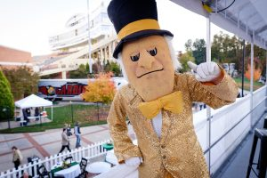 Wake Forest hosts the Unrivaled tailgate party to celebrate members of giving societies before the home football game on Friday, October 30, 2015.