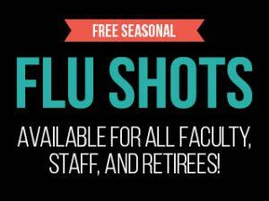Flu Shots 2016 Event Calendar Graphic
