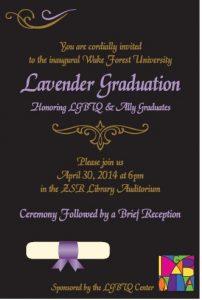 2014 Lavender Graduation
