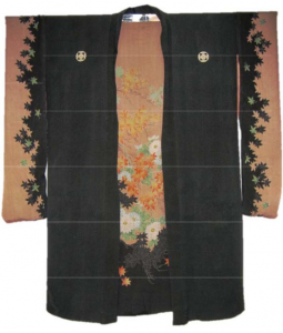 black-and-brown-kimono